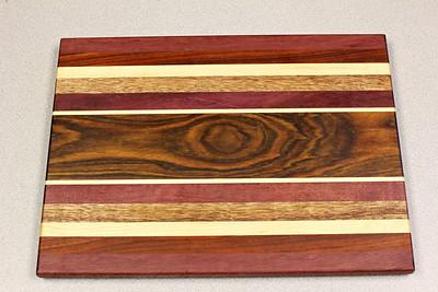 Made for Work  Morada, maple, purpleheart, mahogany, maple, paduk, purpleheart