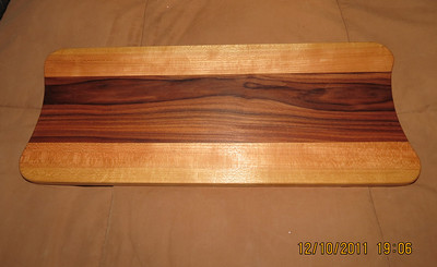 MAple and Brazilian Rosewood made for Danielle's Mom