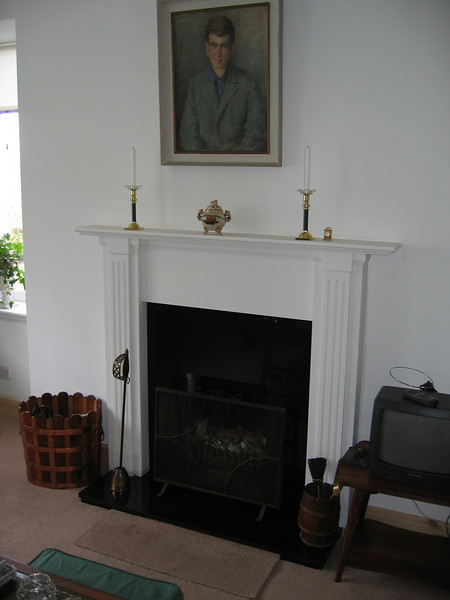 Mantle piece.<br /> <br /> Traditional mantle design built for a renovation project in Lochranza.