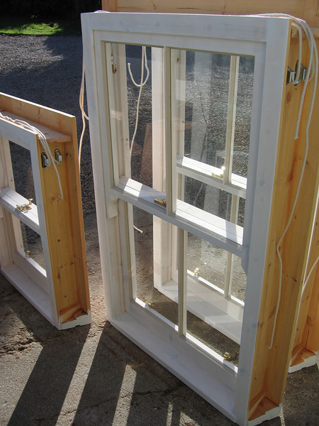 Sash windows.<br /> <br /> Built in the traditional manner for conservation areas these are ready for fitting.