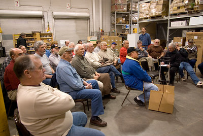 February 2007 brought several new members and visitors to the meeting.