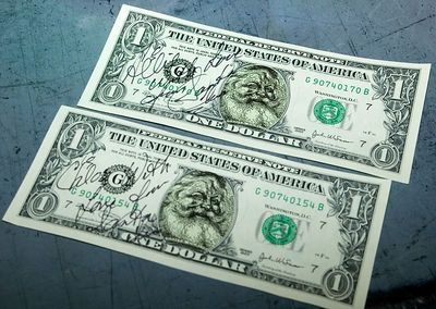 The North Pole prints ist's own currency.Return to Woodworkers Guild