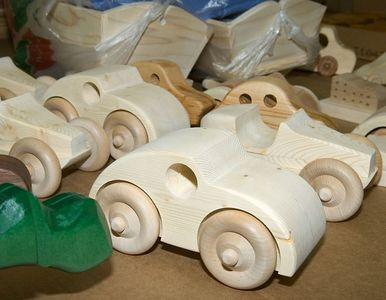 More of the toys made by the woodworkers for Santa.Return to Woodworkers Guild