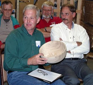 John M. turned this bowl from a tree removed from his yard.Return to Woodworkers Guild