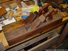 "Pair of 22"" Scioto Fore Planes.  <br /> Rear one was bought several years back, rehandled by Scott G after a fall.  Wood start (strike button)<br /> Front one was bought at the 2012 PAST January San Diego Meet, Metal start, can't find this combo in the 1910-ish Ohio Tool Catalog I have"