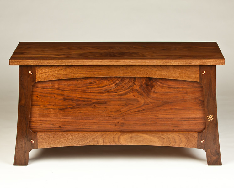 Walnut Bench/Chest 2