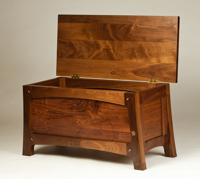 Walnut Bench/Chest 3