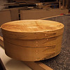 """10"""" Shaker Oval Box - Spalted Maple"""