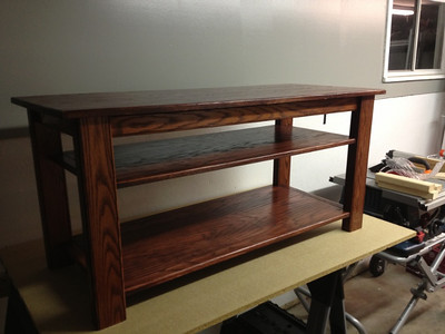 woodworking-sofa-table