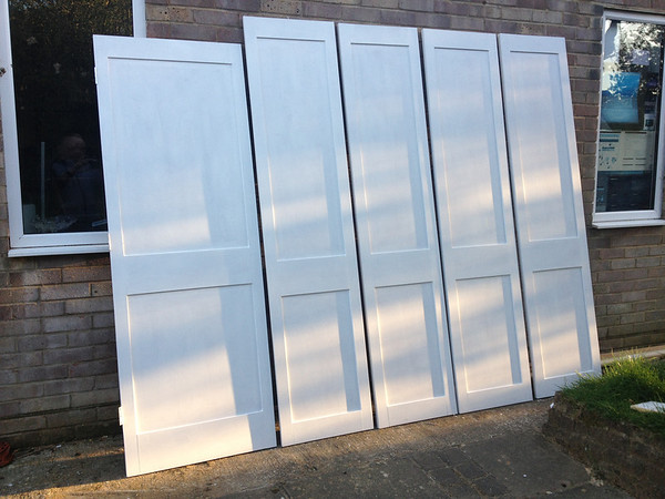 Shaker style doors made to order