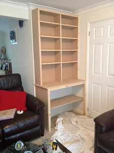 Simple cupboard for storage
