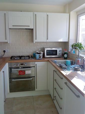 Howdens Kitchen installed.