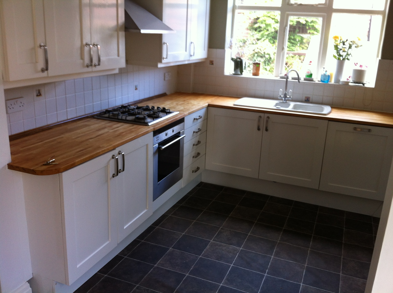 "Kitchen worktop repair and oiling by  <a href=""http://www.harrisonwoodowrk.com"">http://www.harrisonwoodowrk.com</a> in urmston manchester"