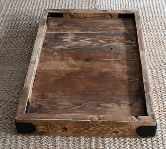 Rustic Pine Serving Tray