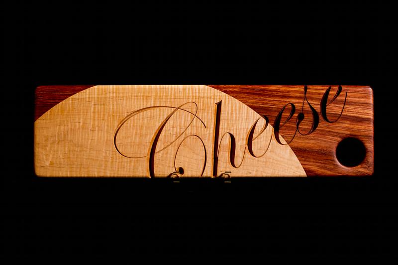 BABINGA AND CURLEY MAPLE - CHEESE BOARD