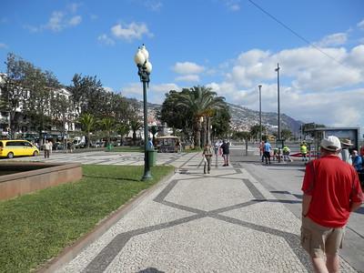 Funchal harbor front