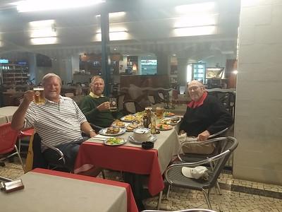 Glen, Carl & Woody on Madeira