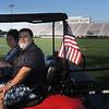 Wayne Hudnall, owner of Golf cart.