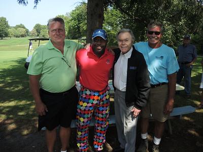 September 4, 2015, Woollybear Golf Tournament with Dick Goddard and friends.