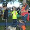 Lucas, Garrett, Everett, with mother Lisa Phillips and in orange on knees, Hudson Ruiz.