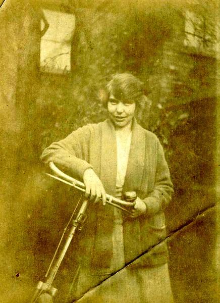 Muriel Copson in 1924