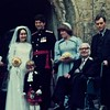Cousin Robert Woolsey's  wedding to Elizabeth Shanks in Oct 1978. Uncle George is in the wheelchair and Pamela is on the far right.
