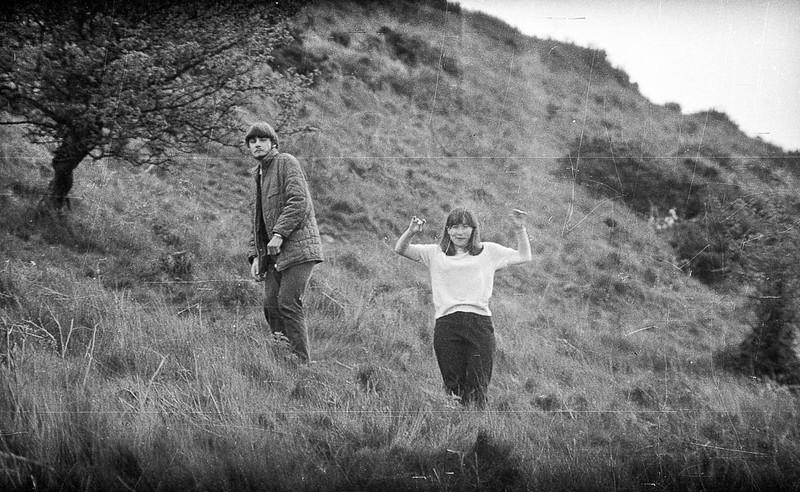 Pete and Helen Hodgson on the Malvern Hills