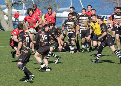 Worcester Rugby - Quinn Griffin - Newport Championship Winners 6