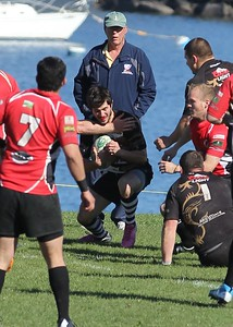 Worcester Rugby - Quinn Griffin - Newport Championship Winners 19