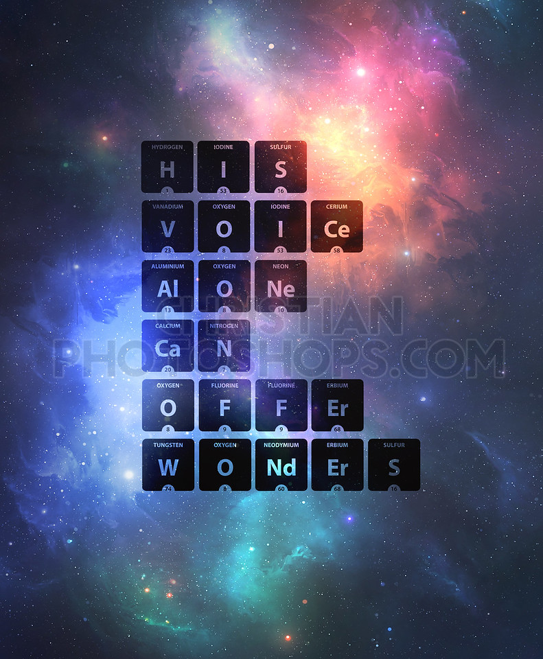 Periodic table words