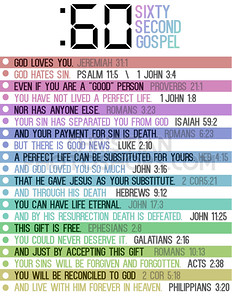 60 Second Gospel