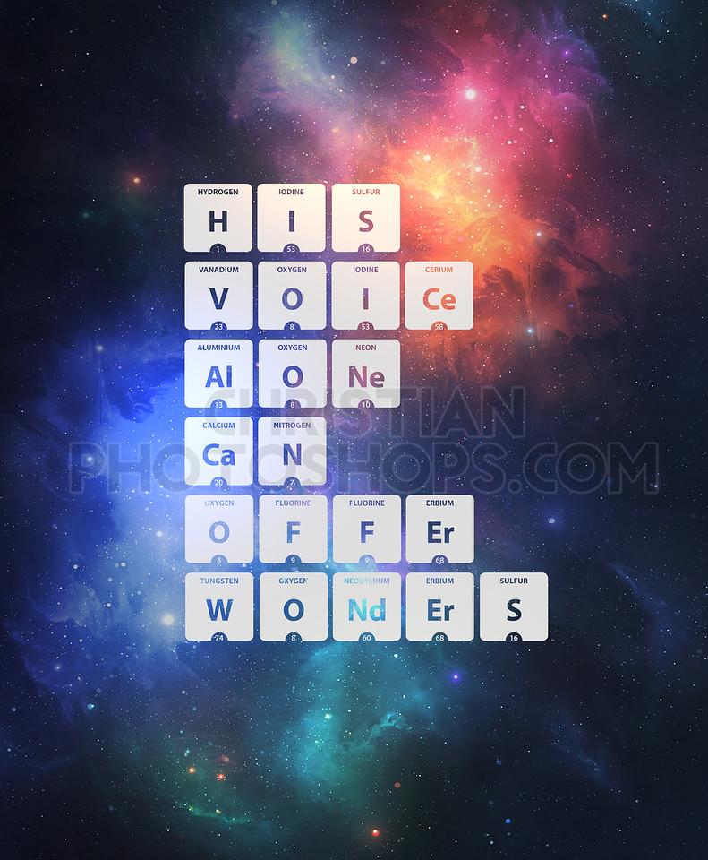 Periodic symbol words