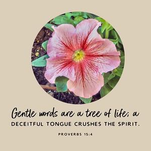 Proverbs 15:4 NLT