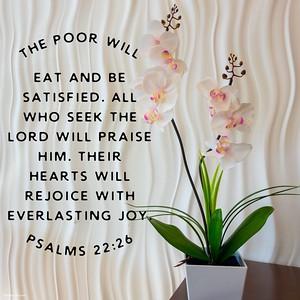 Psalms 22:26 NLT