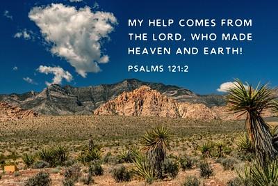 Psalms 121:2 NLT