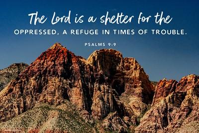 Psalms 9:9 NLT