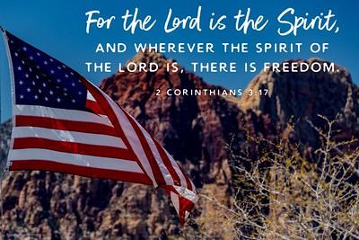 2 Corinthians 3:17 NLT