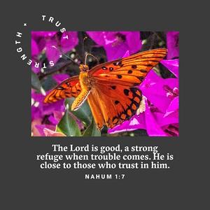 Nahum 1:7 NLT