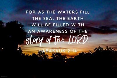 Habakkuk 2:14 NLT