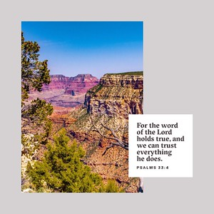 Psalms 33:4 NLT