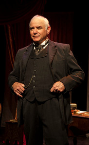 "Henry James (Robert Sicular) tells of an affair. From Colm Tóibín's ""Silence.""Word for Word's Stories by Emma Donoghue and Colm Tóibín at Z Below, Feb 24th through April 3rd, 2016.Photo credit: Julie Schuchard"