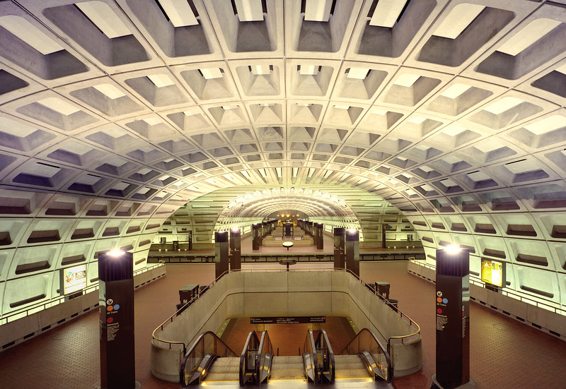Metro Center. Washington DC