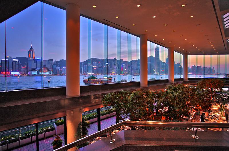 View from Wan Chai, Hong Kong