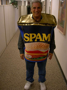 Don, one of our IT guys, was Spam! How appropriate.