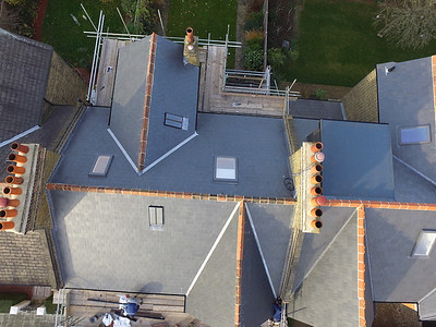 Canadian Slate Roof - Glendyne