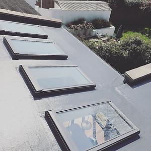 GRP Flat Roof - Standard Grey