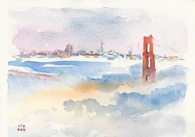 SF bridge 12 X 9  WC