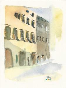 Piazza San Felice, Italie 9 X 12 WC