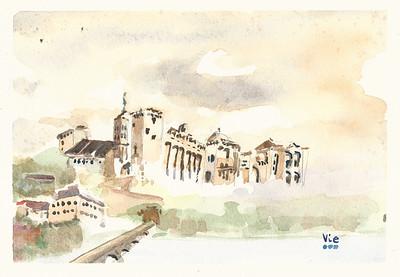 Avignon, France 12 X 9 WC