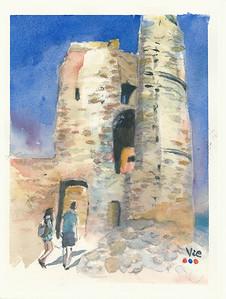 No 232 Le château de Grimaud